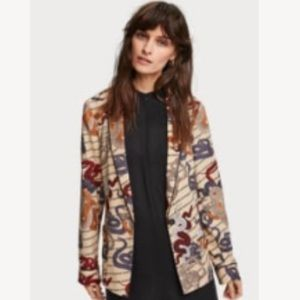 NWT Scotch & Soda Pyjama Blazer - medium